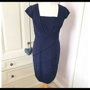 Adrianna Papell Pencil Dress Fitted Dress